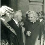 Angelini e presidente Repubblica