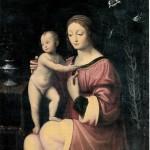Madonna col Bambino luinesca