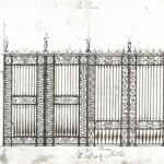 disegno cancello