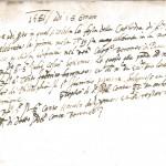 prima Messa 1581