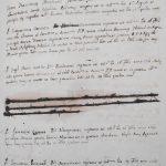 1760, registro alunni a