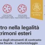 Convegno: il rientro nella legalità di patrimoni esteri
