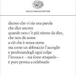28-5 Incontri di Poeti, Enrico Testa