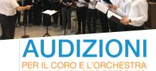 Audizioni per il coro e l'orchestra del Collegio Borromeo